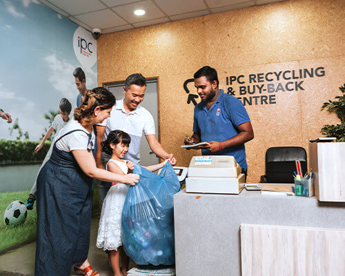 IPC Recycling Centre in Malaysia