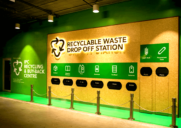 Recycling Centre at IPC Shopping Centre