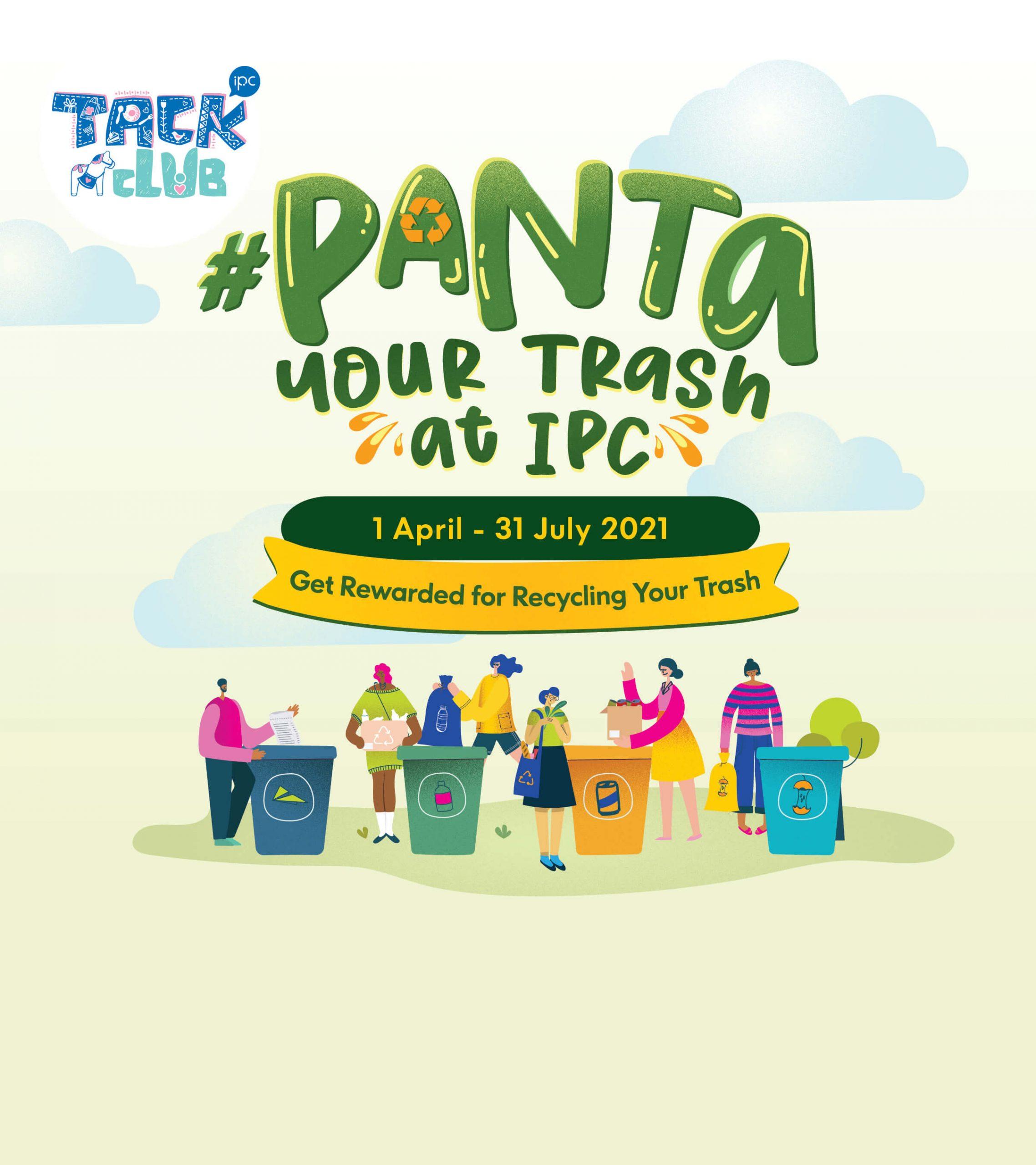 #Panta Your Trash Away