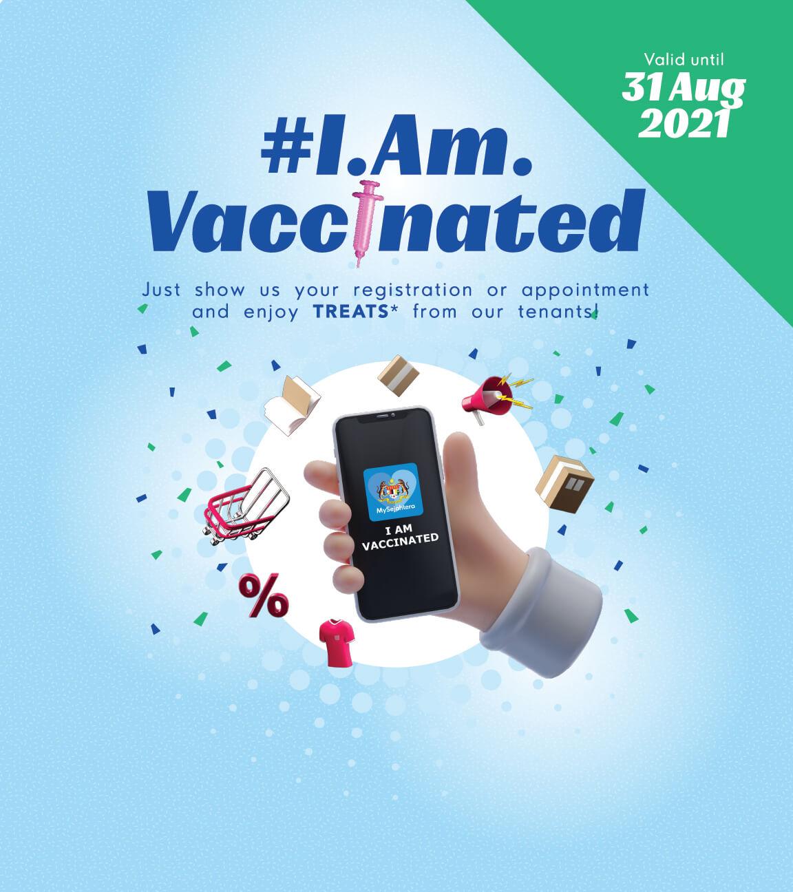 #IAmVaccinated