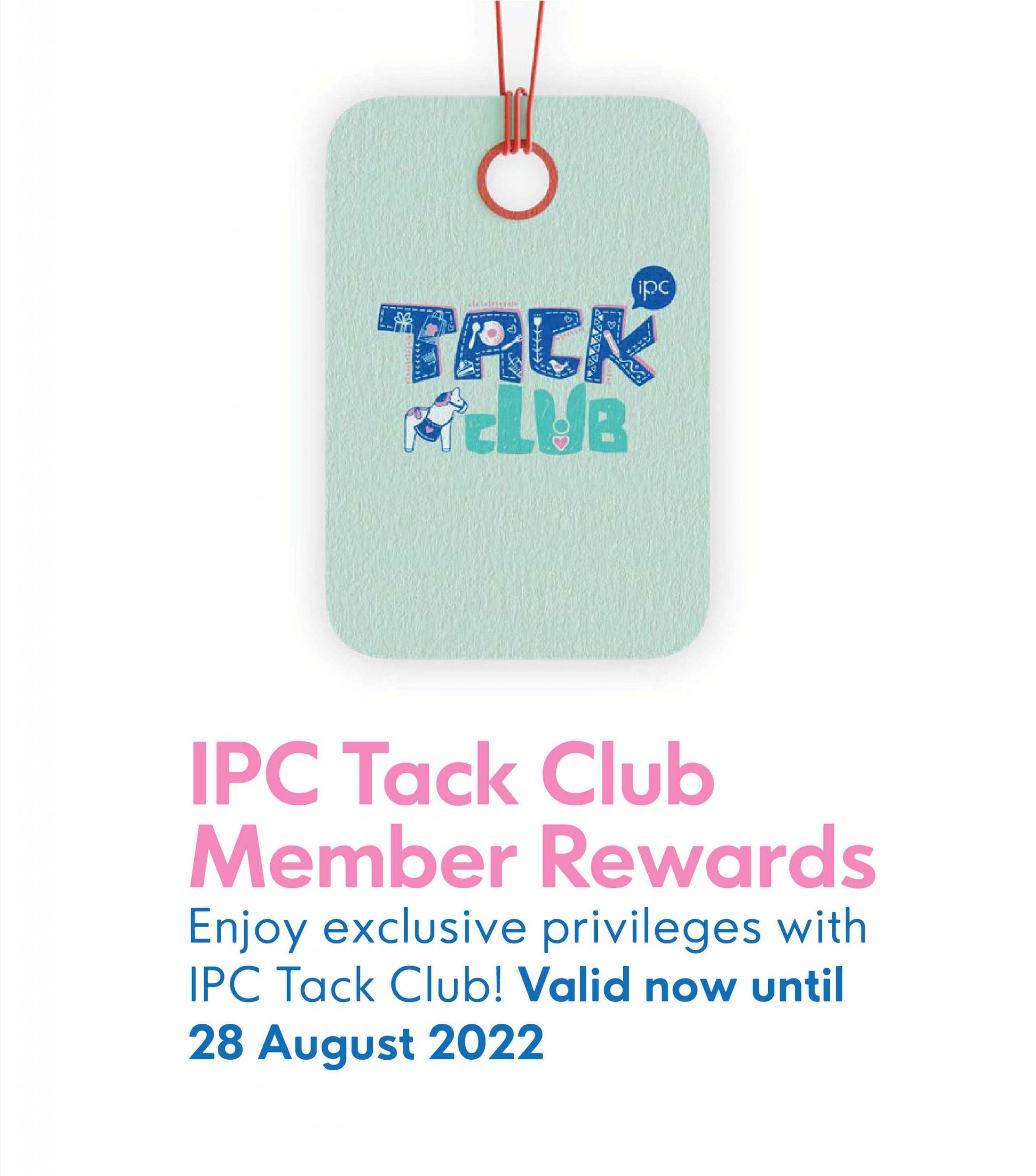 Tack Club Rewards