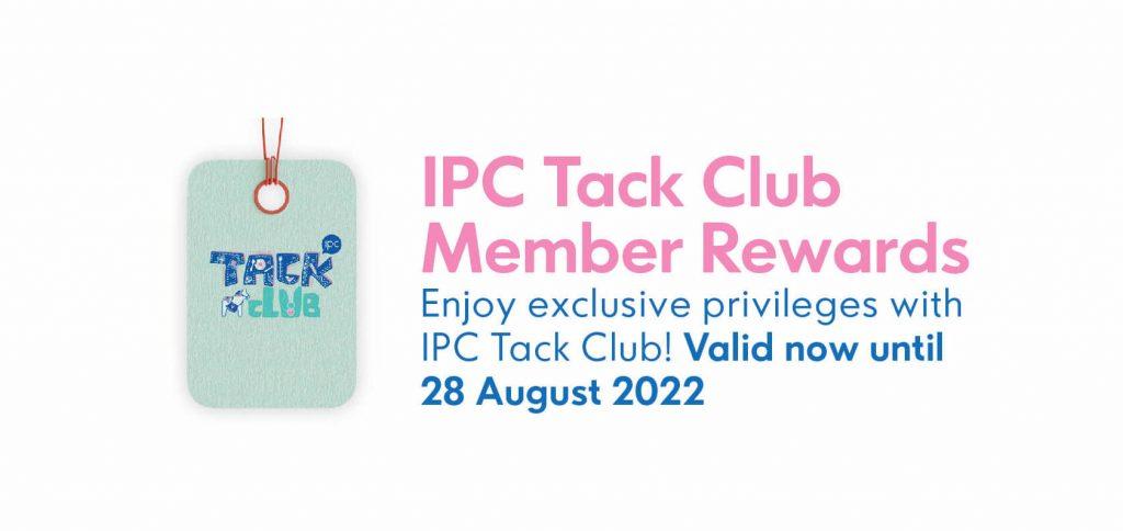 IPC Shopping Centre Tack Club Member